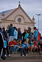 Durante o feriado da Ascenção do Senhor, milhares de peregrinos se reuniram no município de Farroupilha, na Serra Gaúcha, para a 129a Romaria ao Santuário de Nossa Senhora do Caravaggio. FOTO: Lucas Uebel/Preview.com