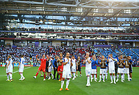 Iceland greeting supporters<br /> Moscow 16-06-2018 Football FIFA World Cup Russia  2018 <br /> Argentina - Iceland / Argentina - Islanda<br /> Foto Matteo Ciambelli/Insidefoto