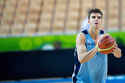 Samuel Haanpää of Finnland at practice session of team Finnland 1 day before the beginning of Eurobasket 2013 on September 3, 2013 in Arena Bonifika, Koper, Slovenia. (Photo by Matic Klansek Velej / Sportida.com)
