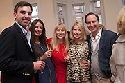 RUTH POWYS; ; MARY POWYS; ROBIE HONEY , Party given by Basia Briggs and Richard Briggs at their home in Chelsea. London. 14 May 2012