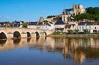 France, Loir-et-Cher (41), Montrichard, château de Montrichard, forteresse du XIe siècle // France, Loir-et-Cher, Montrichard, castle and fortress of the 11h century