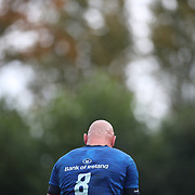 DUBLIN, IRELAND:  October 9:   Rhys Ruddock #8 of Leinster during the Leinster V Zebre, United Rugby Championship match at RDS Arena on October 9th, 2021 in Dublin, Ireland. (Photo by Tim Clayton/Corbis via Getty Images)