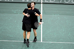 November 3, 2017 - Paris, France, France - joie de Jamie Murray (gbr) / Bruno Soares (bra) en fin de match (Credit Image: © Panoramic via ZUMA Press)