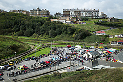 © Licensed to London News Pictures. <br /> 10/09/2017 <br /> Saltburn by the Sea, UK.  <br /> <br /> The annual Saltburn by the Sea Historic Gathering and Hill Climb event. Organised by Middlesbrough and District Motor Club the event brings together owners of a wide range of classic cars and motorcycles dating from the early 1900's to 1975. Participants take part in a hill climb to test their machines up a steep hill near the town. Once held as a competitive gathering a change in road regulations forced the hill climb to become a non-competitive event.<br /> <br /> Photo credit: Ian Forsyth/LNP