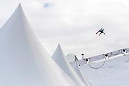 Jackson Wells during Men's Ski Big Air Eliminations at 2017 X Games Norway at Hafjell Alpinsenter in Øyer, Norway. ©Brett Wilhelm/ESPN