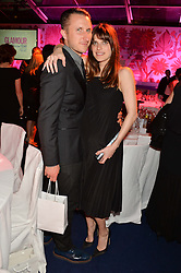 LAKE BELL and SCOTT CAMPBELL at the Glamour Women of The Year Awards in Association with Next held in Berkeley Square Gardens, Berkeley Square, London on 3rd June 2014.