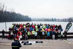 Priprave Ljubljanski Maraton, 4th January 2020, Koseski bajer, Ljubljana, Slovenia. Photo By Grega Valancic / Sportida