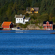 The scenic view along the Sognefjord, the world's longest and deepest fjord. I love this shot because it is so typically Norwegian and exactly what I thought Norway would look like. This was taken near Lavik, Norway.