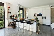 Architecture, interior of modern kitchen in luxury house