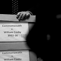 NORRISTOWN, PA - JUNE 7: Legal documents are wheeled into the courtroom on the third day of the Bill Cosby sexual assault trial at the Montgomery County Courthouse June 7, 2017 in Norristown, Pennsylvania. A former Temple University employee alleges that the entertainer drugged and molested her in 2004 at his home in suburban Philadelphia. More than 40 women have accused the 79-year-old entertainer of sexual assault. (Photo by Mark Makela/Getty Images)