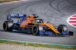 February 19, 2019 - Barcelona, Spain - Lando Norris of McLaren during second journey of F1 Test Days in Montmelo circuit, on February 19, 2019. (Credit Image: © Javier MartíNez De La Puente/NurPhoto via ZUMA Press)
