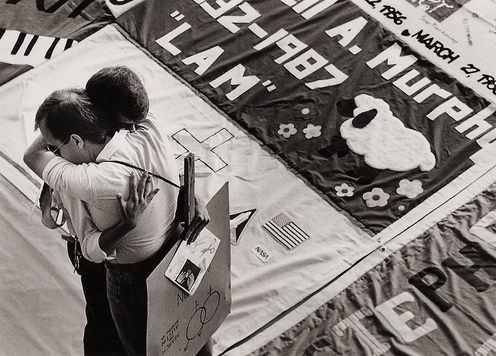 Names Project AIDS Memorial Quilt, 1988, Houston, Texas