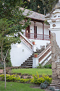 Exterior of accommodation area, Hacienda Piman, Imbabura Province, Ecuador, South America