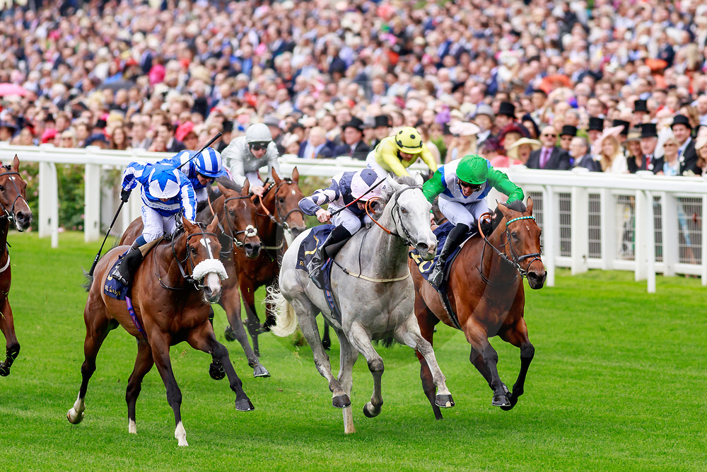 Lord Glitters (D. Tudhope) wins The Queen Anne Stakes Gr. 1 at  Royal Ascot, 18/06/2019, photo: Zuzanna Lupa
