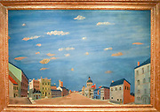 André Derain (1880 - 1954), La ville italienne, Italian Town, Circa 1948-1950, Gouache on board laid down on canvas, 122 × 181.7 cm The Goulandris Museum of Contemporary Art is a modern art museum in Eratosthenous Street, Pangrati, Athens, Greece, opened in October 2019.