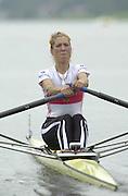 2002 FISA World Cup. Hazewinkel. BEL.       Friday  14/06/2002     .email images@Intersport-images.com.[Mandatory Credit: Peter Spurrier/Intersport Images]  .                                 /06/2002.Rowing    .LW1X GER  Valeerie Vichoff Rowing, FISA WC.Hazenwinkel, BEL