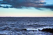 view of Tokyo Bay from Yokosuka Japan