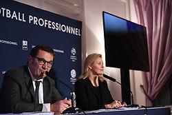 December 14, 2017 - Paris, France - Nathalie Boy de la Tour (presidente LFP) - Didier Quillot  (Credit Image: © Panoramic via ZUMA Press)