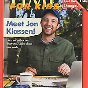 Author/Illustrator Jon Klassen for TIME for Kids.