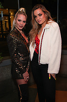 Ava Capra and Ariel Lyndsey at Los Angeles Premiere Of 'Untogether' held at Frida Restaurant on February 08, 2019 in Sherman Oaks, California, United States (Photo by JC Olivera)