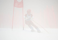 U14 racers Gus Pitou Memorial alpine ski race January 13, 3013.
