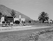 """0301-533A """"El Estribo Lodge. Pool"""" (now on National Register of Historic Places, as the Neil H. Gates House 1925-1949. 4602 N. Elsie Ave., Phoenix)"""