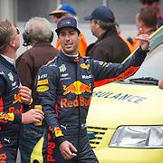 NLD/Zandvoort/20180520 - Jumbo Race dagen 2018, Daniel Ricciardo en David Coulthard
