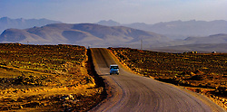 A long straight stretch of road near the town of Tinghir, Morocco<br /> <br /> (c) Andrew Wilson   Edinburgh Elite media