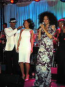 Jamie Foxx, Tracey Ross, Diana Ross & Fantasia.**EXCLUSIVE**.Clive Davis Pre Grammy Party.Beverly Hills Hotel.Beverly Hills, CA, USA.Saturday, February, 12, 2005.Photo By Celebrityvibe.com/Photovibe.com, New York, USA, Phone 212 410 5354, email:sales@celebrityvibe.com...