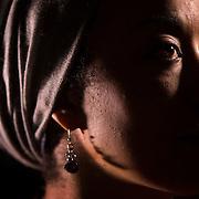 "Aisha Sharif, of Shawnee, a professor of English at Longview Community College. For the ""I Am A Muslim"" series."