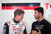 June 13-18, 2017. 24 hours of Le Mans. Pascal Vasselon, Technical Director, Toyota Gazoo Racing, Jose Maria Lopez, Toyota Racing, Toyota TS050 Hybrid