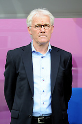 13-06-2012 VOETBAL: UEFA EURO 2012 DAY 6: POLEN OEKRAINE<br /> TRENER (HEAD COACH) MORTEN OLSEN during the UEFA EURO 2012 group B match between Denemarken en Portugal at Arena Lwiw, Lemberg, UKR<br /> ***NETHERLANDS ONLY***<br /> ©2012-FotoHoogendoorn.nl