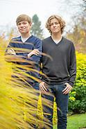 Ben and Chris Wein seniors