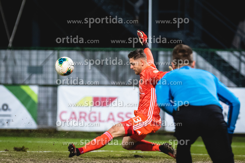 Kenan Pirić of Maribor during football match between NŠ Mura and NK Maribor in 22nd Round of Prva liga Telekom Slovenije 2019/20, on February 26, 2020 in Fazanerija, Murska Sobota, Slovenia. Photo by Blaž Weindorfer / Sportida