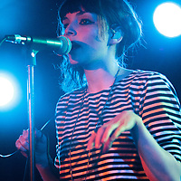 Chvrches performing live at The Ruby Lounge, Manchester, 2013-02-25
