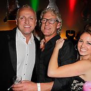 NLD/Amsterdam/20120204 - 30ste Verjaardag Richy Brown, Gordon Heuckeroth, broer John en een vriendin
