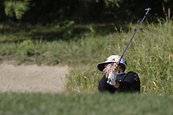 October 21, 2017 - Seogwipo, Jeju Island, South Korea - Chez Reavie of USA putt action on the 2th bunker mound during an PGA TOUR CJ CUP NINE BRIDGE DAY 3 at Nine Bridge CC in Jeju Island, South Korea. (Credit Image: © Ryu Seung Il via ZUMA Wire)