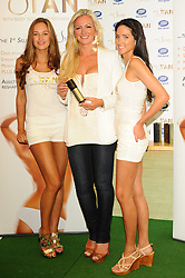 Launches U Tan...Boots, Westfield, London...24.05.12Michelle Mone Launches U Tan at Boots Westfield shopping centre, London, Thursday May 24, 2012. Photo By Chris Josepth/i-Images