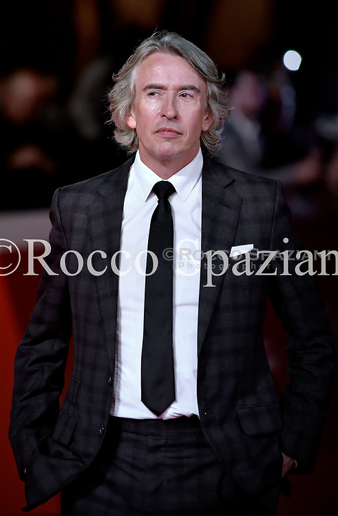 Steve Coogan walks the red carpet ahead of the 'Stan & Ollie' screening during the 13th Rome Film Fest at Auditorium Parco Della Musica on October 24, 2018 in Rome, Italy.