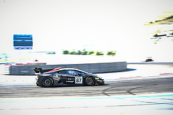 December 14, 2018 - Abu Dhabi, EMIRATS ARABES UNIS - 87 GDL RACING LAMBORGHINI SUPER TROFEO EVO GT3 GT CUP MARIO CORDONI (ITA) STEVEN LIQUORISH (GBR) DIMITRIS DEVERIKOS  (Credit Image: © Panoramic via ZUMA Press)