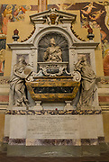 Tomb of Galileo Galilei in the Basilica of Santa Croce