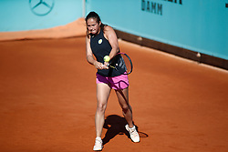 May 3, 2019 - Madrid, MADRID, SPAIN - Daria Kasatkina of Russia during the Mutua Madrid Open 2019 (ATP Masters 1000 and WTA Premier) tenis tournament at Caja Magica in Madrid, Spain, on April 28, 2019. (Credit Image: © AFP7 via ZUMA Wire)