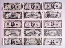 Assortment of paper currency CONCEPT STOCK PHOTOS