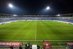 BAKU, AZERBAIJAN - Saturday, November 16, 2019: A general view before the UEFA Euro 2020 Qualifying Group E match between Azerbaijan and Wales at the Bakcell Arena. (Pic by David Rawcliffe/Propaganda)