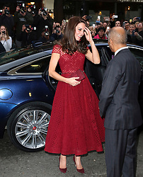 © Licensed to London News Pictures. 04/04/2017. London, UK, Catherine Duchess of Cambridge, 42nd Street - press night, Photo credit: Richard Goldschmidt/LNP