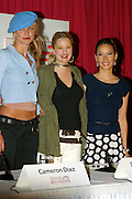CAMERON DIAZ, DREW BARRYMORE & LUCY LIU LAUNCH THIER MOVIE.CHARLIES ANGELS  IN SYDNEY.. 5/6/03