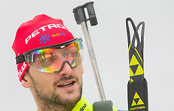 Jakov Fak during media day of Slovenian biathlon team before new season 2013/14 on November 14, 2013 in Rudno polje, Pokljuka, Slovenia. Photo by Vid Ponikvar / Sportida
