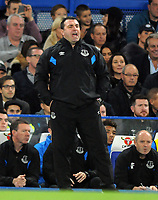 Football - 2017 / 2018 EFL (League) Cup - Fourth Round: Chelsea vs. Everton<br /> <br /> Everton caretaker Manager, David Unsworth at Stamford Bridge.<br /> <br /> COLORSPORT/ANDREW COWIE