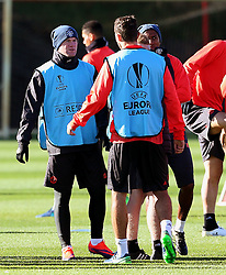 Wayne Rooney of Manchester United  - Mandatory by-line: Matt McNulty/JMP - 19/10/2016 - FOOTBALL - Manchester United - Training session ahead of Europa League game against Fenerbahce