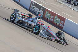 February 9, 2018 - Avondale, Arizona, United States of America - February 09, 2018 - Avondale, Arizona, USA: Will Power (12) takes his IndyCar Verizon car through the turns during the Prix View at ISM Raceway in Avondale, Arizona. (Credit Image: © Walter G Arce Sr Asp Inc/ASP via ZUMA Wire)